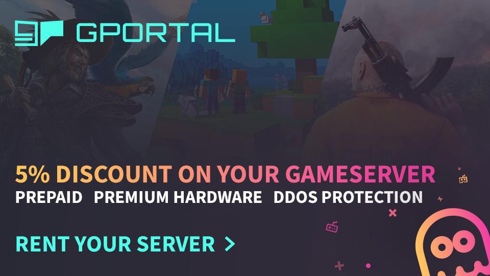 G-Portal Banner